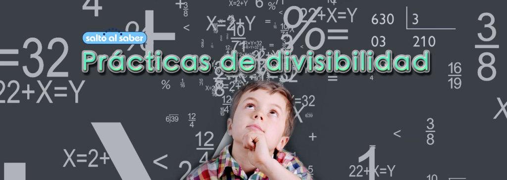 Se empieza a aprender   Divisibilidad en cuarto grado de educación primaria.